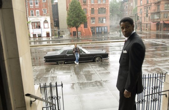 Russel Crowe et Denzel Washington dans American Gangster